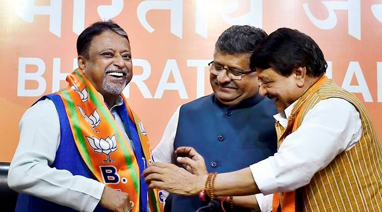 Mukul roy, Mamata Banerjee, Mukul roy joins bjp, Mukul roy BJP, amit shah, trinamool congress, indian express, india news