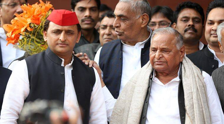 Mulayam Singh Yadav, Mulayam Akhilesh relations, akhilesh yadav, Mulayam on son Akhilesh, Samajwadi Party, Uttar Pradesh, India news, Indian express news