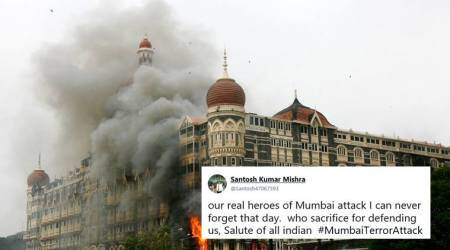 'India will never forget': Twitterati pay homage to martyrs of 26/11 Mumbai terror attack