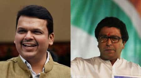 devendra fadnavis, Raj thackeray, manse, bj[p, lok sabha elections, election news, lok sabha elections 2019, lok sabha polls, indian express