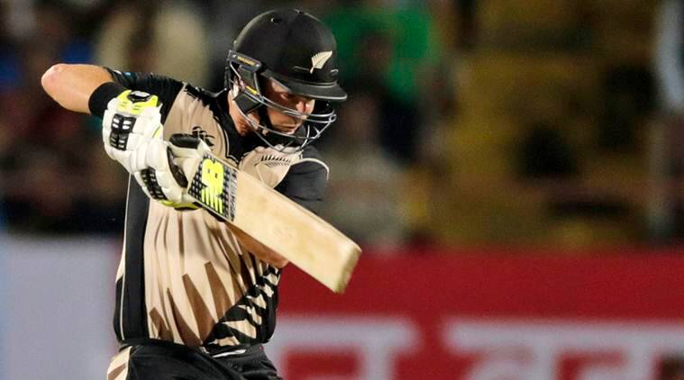 Colin Munro, India vs New Zealand, Colin Munro hundred, Colin Munro runs, Colin Munro batting, sports news, cricket, Indian Express