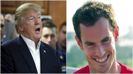 Andy Murray is merciless in his Donald Trump mocking!