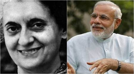 Indira Gandhi, Narendra Modi, Former PM Indira Gandhi, PM Narendra Modi, PM Modi, Indian Express, Indian Express News