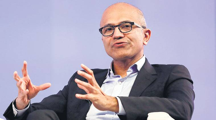 satya nadella, cyber code of conduct, digital Geneva Convention, cloud computing, microsoft