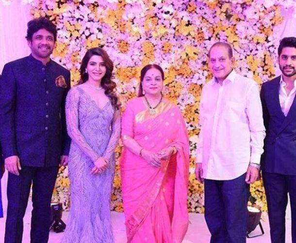 mahesh babu, samantha ruth prabhu, naga chaitanya, samantha ruth prabhu naga chaitanya wedding reception