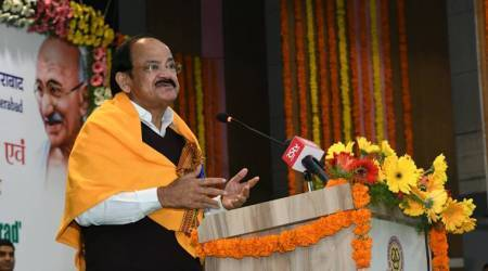Hindi played historic role in development of India's unity: VP Venkaiah Naidu