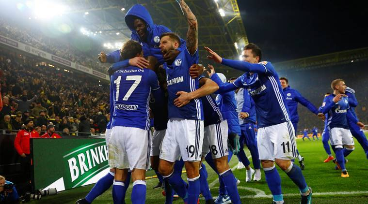Stunning Scenes As Schalke Come Back From 4-0 Down In Dortmund