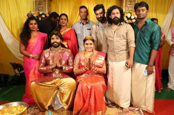 Photos you cant miss these photos from namitha and veerandras namitha wedding photos thecheapjerseys Images