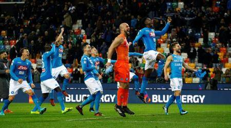Serie A: Napoli back on top as coach Maurizio Sarri delights in ugly win