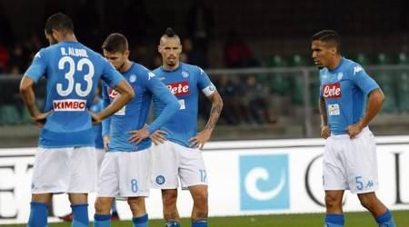 napoli injuries, napoli serie a, serie a table, napoli champions league, football news, sports news, indian express