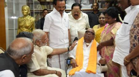 Modi meeting DMK patriarch Karunanidhi: BJP looking for neutral ground in Tamil Nadu?