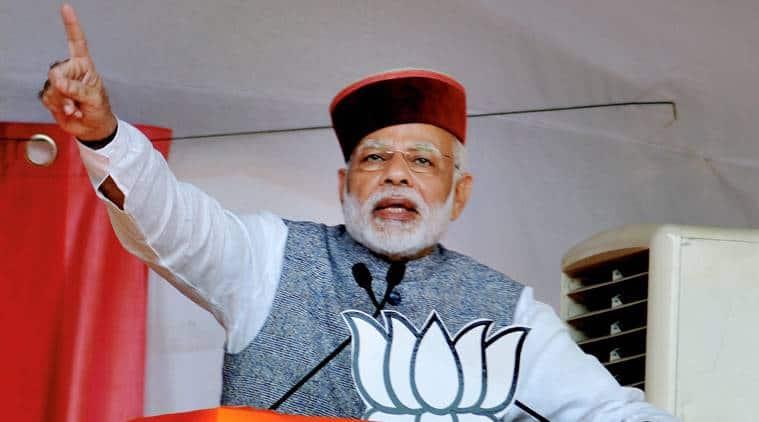 Narendra Modi, benami properties, PM Modi on benami properties, PM Modi against corruption, PM Modi slams Congress, PM Modi Himachal Pradesh rally, BJP Himachal Pradesh election campaign, india news, indian express news