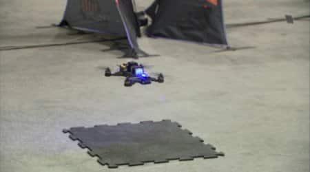 NASA drone race sees human pilot beat AI-controlled autonomoussystem
