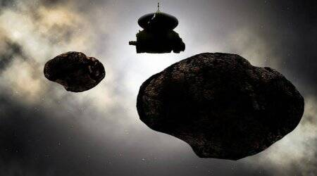 NASA New Horizons mission, flyby destination nickname, Kuiper Belt, MU69 informal name contest, Kuiper Belt Object, Pluto, binary orbiting pair, contact pair, multiple body system, farthest planetary encounter space flight, NASA Science Mission Directorate