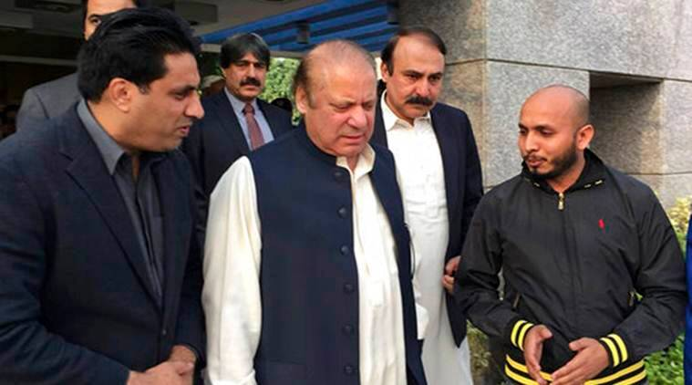 A teenaged suicide bomber blew himself up near the residence of former Pakistan prime minister Nawaz Sharif, killing nine people, including five policemen, police said.