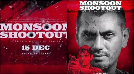 Monsoon Shootout motion poster: Nawazuddin Siddiqui's scarred look is promising a gritty crime-thriller