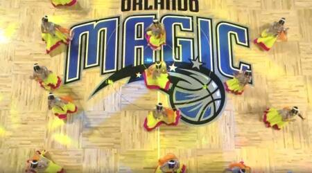 Video of dancers performing to 'Baahubali' at an NBA basketball game in Orlando goes viral