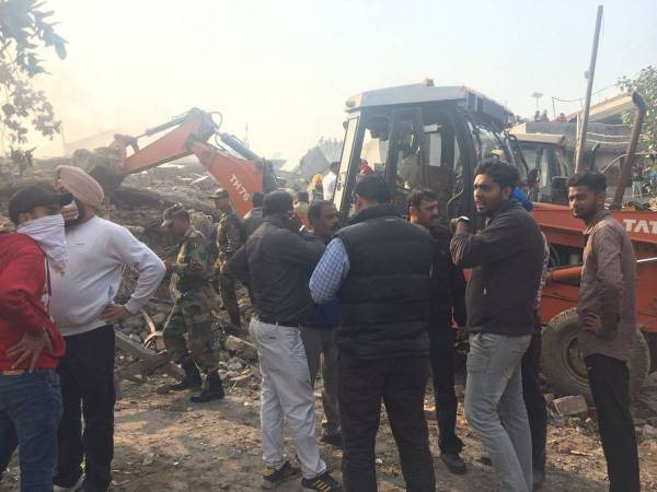 Ludhiana building collapse