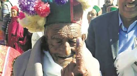 Himachal Assembly elections: At 101, India's first voter votes again, says 'maine apna farz nibhaya'
