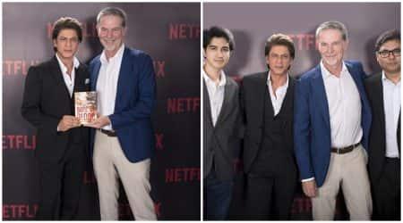 Shah Rukh Khan and Netflix announce original series based on Bard ofBlood