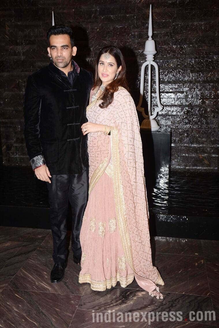 Zaheer Khan, Sagarika Ghatge, Zaheer Khan and Sagarika Ghatge wedding