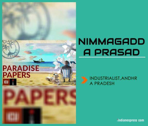 paradise papers, Paradise Papers photos, jagan mohan reddy, Nimmagadda Prasad, ICIJ, paradise papers Indian Express images, panama papers express investigation pics,