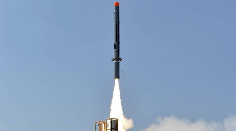 DRDO successfully test-fires sub-sonic cruise missile Nirbhay