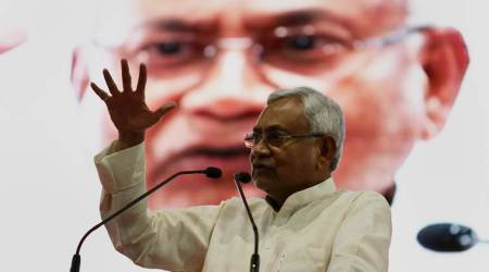 Nitish Kumar takes dig at Lalu