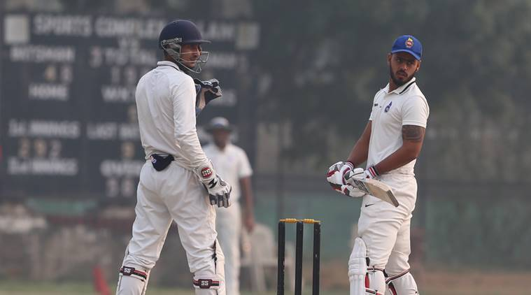 Delhi vs Uttar Pradesh, Ranji Trophy, Nitis Rana, Unmukt Chand, Delhi ranji team, Ranji Trophy table, cricket news, Indian Express