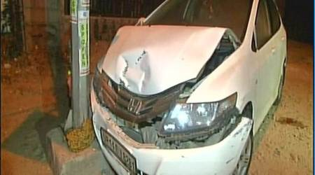 Noida Sector-18 accident: Pregnant woman out for shopping run over by car driven byminor