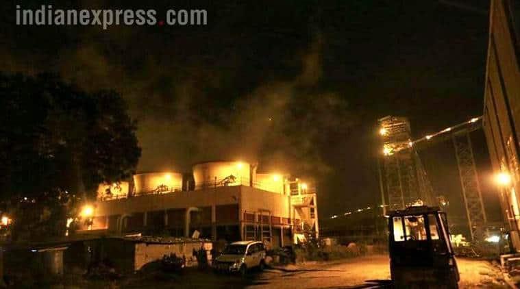 NTPC blast, Uttar Pradesh, Rahul Gandhi, Raebareli,