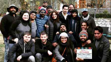 Varun Dhawan starrer October wraps up in just 38 days. See photo