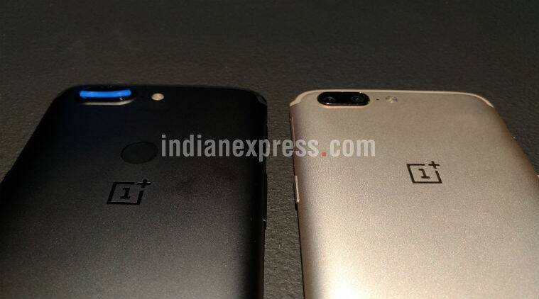 OnePlus 5 and One Plus 5T display design difference