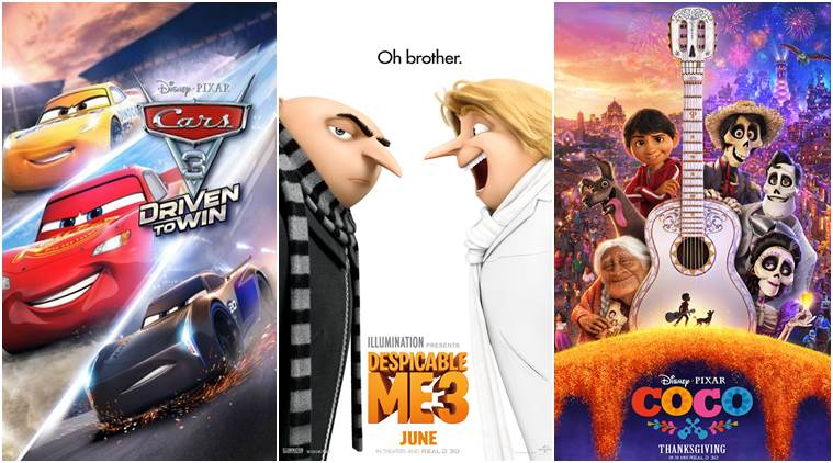 oscars nominations, animated films oscars, academy award for best animated feature, coco, despicable me 3, cars 3, entertainment news, indian express news