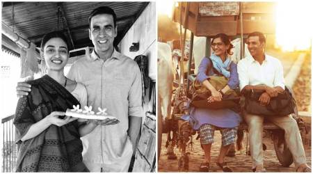 Padman: Akshay Kumar finally shares first look of Sonam Kapoor and Radhika Apte
