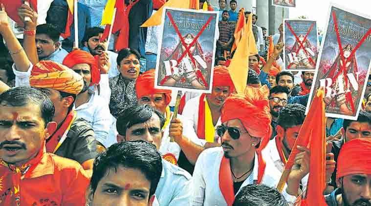 padmavati, karni sena, rajput, vandalise halls, padmavati release, censor board, indian express