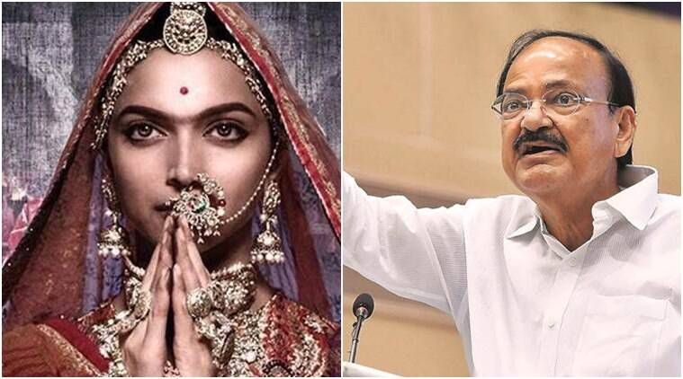 In veiled reference to Padmavati row, V-P Venkaiah Naidu says violent threats not acceptable in democracy