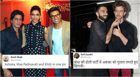 Twitter users are 'retelling history' with hilarious Padmavati, Khilji, Ashoka, Akbar references