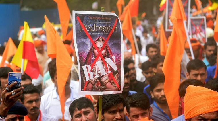Padmavati Row: The film is banned in UP and MP