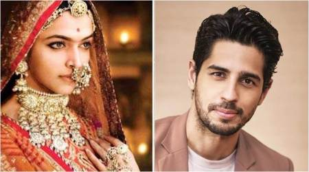 Sidharth Malhotra on Padmavati row: Unfair to comment on a film without watching it
