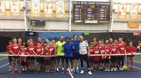 Leander Paes-Purav Raja lift Knoxville Challenger trophy