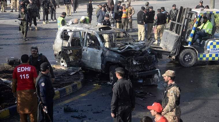 Senior officer killed in suicide blast in Peshawar