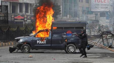 Pakistan protests: Army silent as Islamists, police clashagain