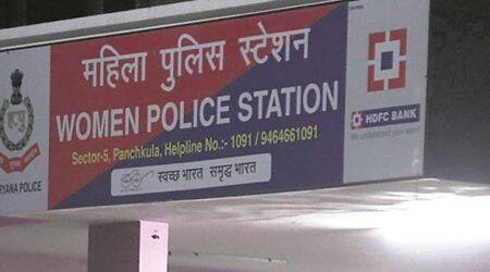 Where is Panchkula police at night?