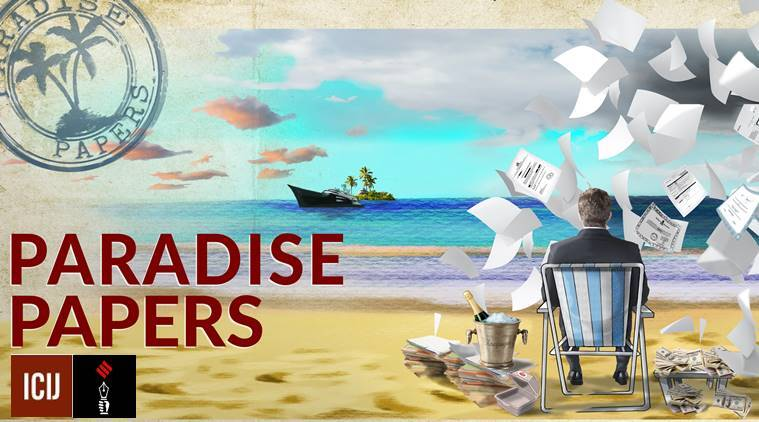 Paradise Papers, Paradise Papers data leak, Paradise Papers investigation, Paradise Papers indian express investigation