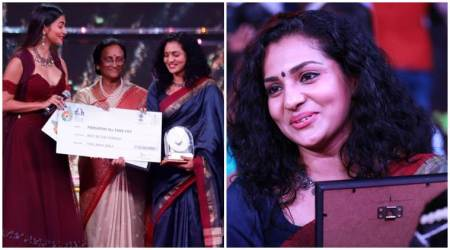 IFFI 2017: Parvathy, first Malayalam actor to win the silver peacock, gets emotional onstage
