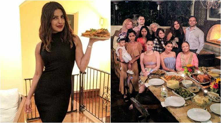 Priyanka Chopra's Thanksgiving weekend was all about 'foodcoma', see photos
