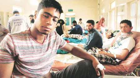 pellet victims in Jammu and kashmir
