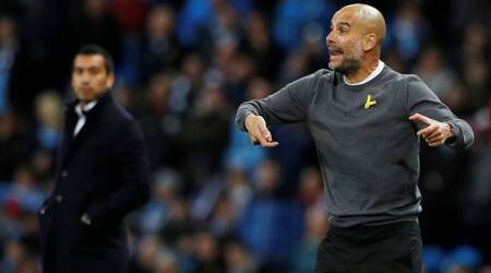Pep Guardiola focused on winning, expects tough fixture in Champions League knockout stage