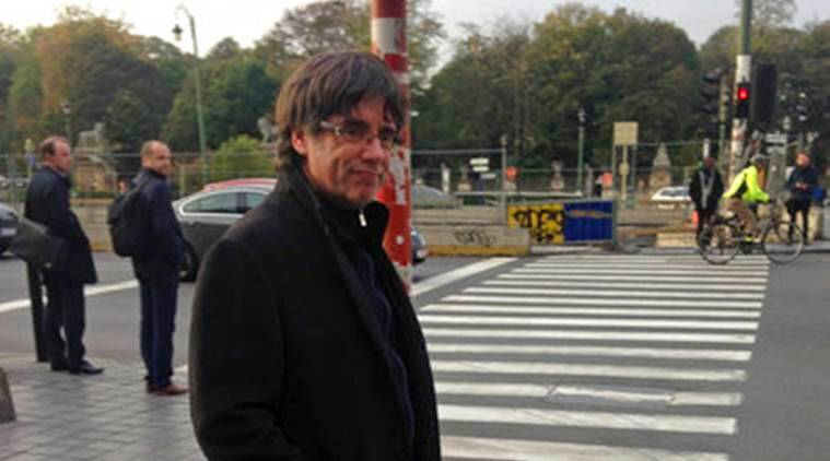 ousted Catalan leader, Carles Puigdemont, Catalan leader Carles Puigdemont, Spain, Catalan leader, Catalan independence, Catalan referendum, world news, latest world news, indian express, indian express news